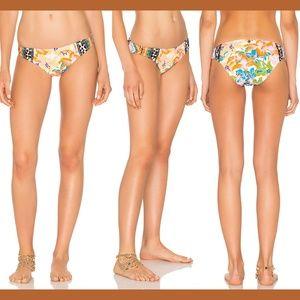 NWT Nanette Lepore Copa Cubana Print Bikini Bottom